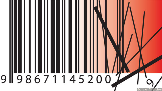 A barcode illustration
