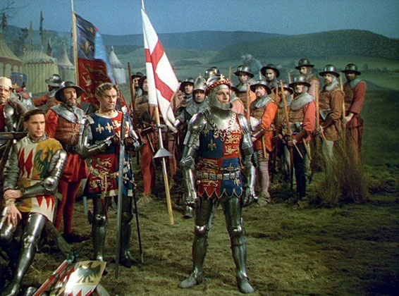 Laurence Olivier as King Henry V